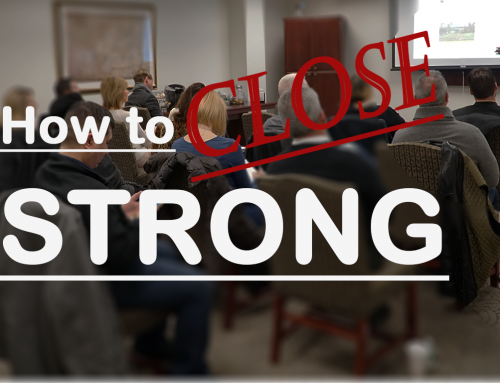 Getting More Agents – How Strong is your Close?
